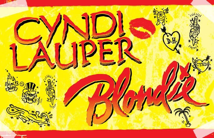 A day on the green – Blondie and Cyndi Lauper – April 1st 2017