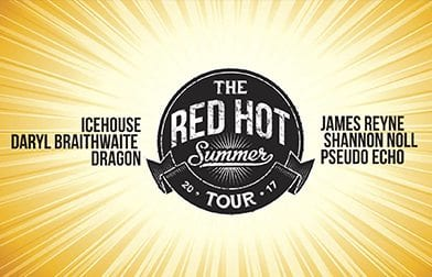 Red hot summer tour 2017 – March 25th 2017